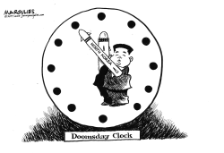 North Korea nukes by Jimmy Margulies
