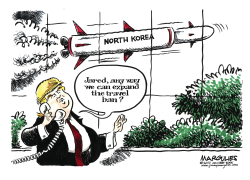 Trump and North Korea nukes by Jimmy Margulies