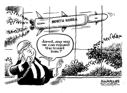 Trump and North Korean nukes by Jimmy Margulies