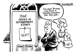 Government ethics chief resigns by Jimmy Margulies