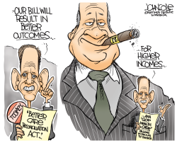 Pat Toomey Wealth Care by John Cole