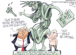 Lady Liberty Abuse by Pat Bagley