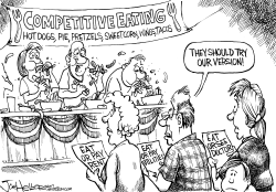 Competitive Eating by Joe Heller