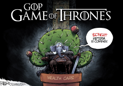 Game of Thrones by Nate Beeler