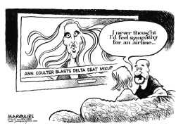 Ann Coulter blasts Delta Airlines by Jimmy Margulies
