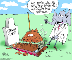 GOP Saves Obamacare by Gary McCoy