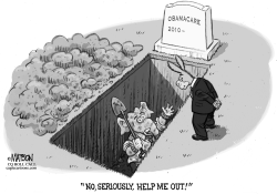 Republicans Dig Early Grave by RJ Matson