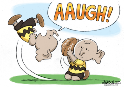 Charlie Brown Republicans Can't Repeal Obamacare by RJ Matson