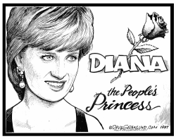 Diana Anniversary Tribute by Dave Granlund