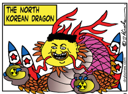 The North Korean Dragon by Yaakov Kirschen