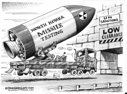 North Korea and UN sanctions by Dave Granlund