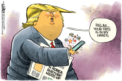 Trump Hands by Rick McKee