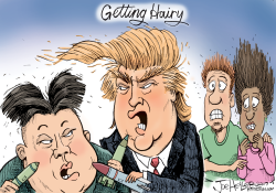 Getting hairy by Joe Heller