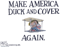 Duck and Cover by Pat Bagley