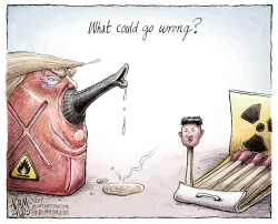 North Korea  by Adam Zyglis