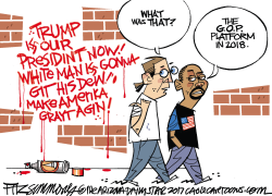 Racists by David Fitzsimmons