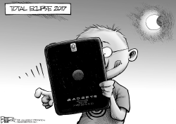 Total Eclipse by Nate Beeler