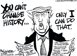 Trump history by Milt Priggee