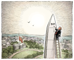 Trump's Washington  by Adam Zyglis