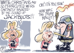 Basement Nazi by Pat Bagley