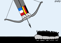 anti-refugee alliance by Rainer Hachfeld