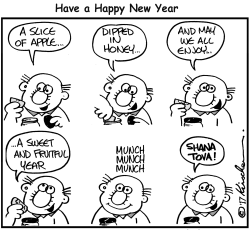 Happy New Year by Yaakov Kirschen