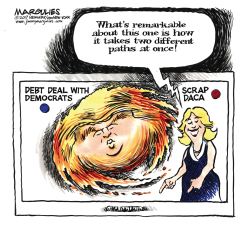 Hurricane Trump color by Jimmy Margulies