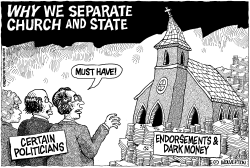 Separation of Church and State by Wolverton