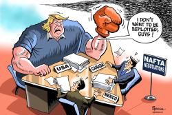 NAFTA negotiations by Paresh Nath