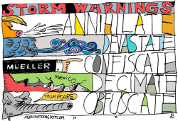 Storm Warnings by Randall Enos