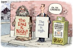 End Is Nigh by Rick McKee