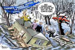 US climate change deniers by Paresh Nath