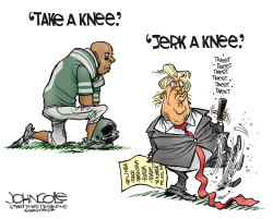 Jerk a knee by John Cole
