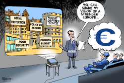 Macron on Europe by Paresh Nath