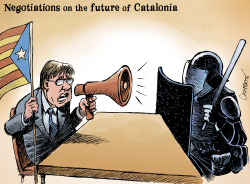Spain and now by Patrick Chappatte