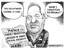 Harvey Weinstein and Sexual assaults by Dave Granlund