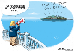 Aid is Always There in Washington for Puerto Rico by RJ Matson