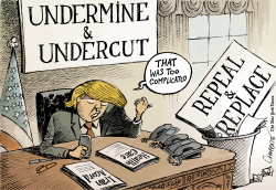 Trump's executive orders by Patrick Chappatte