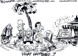 What Happened by Milt Priggee