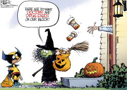 Trick or Treatment by Nate Beeler