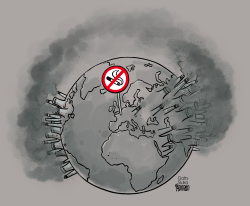 C02 and the Paris agreement by Gatis Sluka