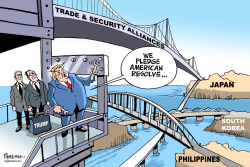 Trump in Asia by Paresh Nath