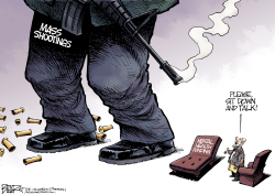 Mass Shootings by Nate Beeler