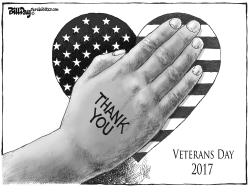 Veterans Day 2017 by Bill Day
