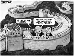 Great Wall ya got here by Steve Sack