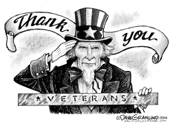 Thank You Veterans by Dave Granlund
