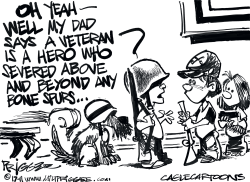 Veterans Day by Milt Priggee