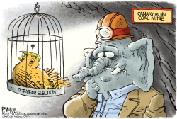 Trump Canary by Rick McKee