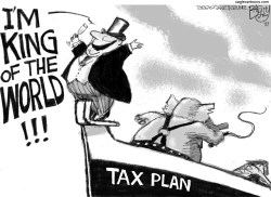 Titanic Tax by Pat Bagley
