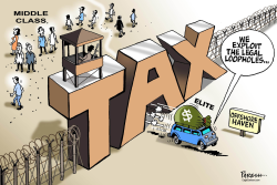 Tax avoiders by Paresh Nath